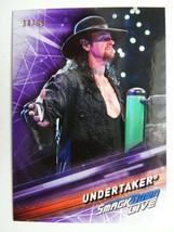 2019 Topps WWE Smackdown #60 Undertaker Purple Parallel Card 34/99 - $5.99