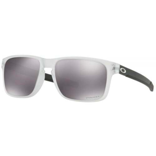 Oakley Holbrook Mix Sunglasses OO9384-0557 Matte Clear Prizm Black Lens