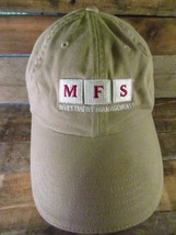 MFS Investment Management Adjustable Adult Hat Cap  - $9.89