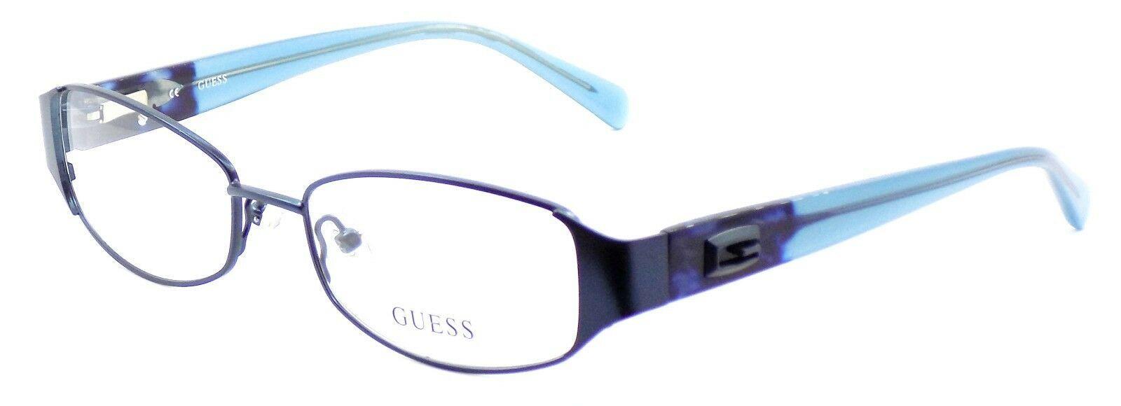 GUESS GU2411 BL Women's Eyeglasses Frames 52-17-135 Blue + CASE - $54.25