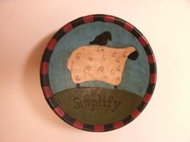 Black Bird on Sheep SIMPLIFY Collectible Mini Bowl - $1.99