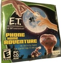 E.T. The Extra-Terrestrial Phone Home Adventure 2002 PC CD Rom Game Collectible - $12.86