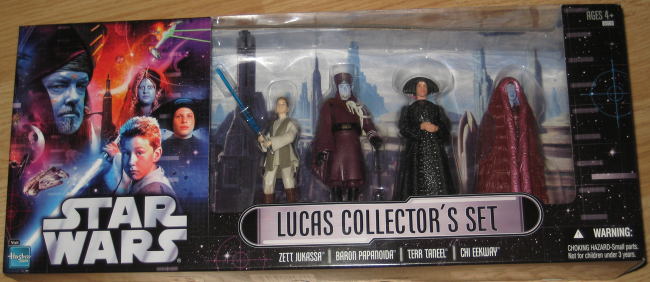 * Star Wars LUCAS COLLECTOR'S SET Action Figures MIB