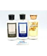 3 Various Bath And Body Works Men's Moisture Body Lotion, 8 Fl Oz Each -... - $24.70
