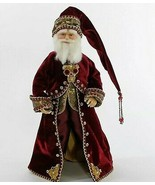 """katherine's collection Santa Claus Gifts of Christmas red gold 18"""" 11-91... - $179.99"""