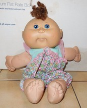 2004 Play along Cabbage Patch Kids Plush Toy Doll CPK Xavier Roberts OAA - $14.03