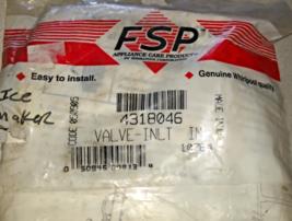 FSP 4318046 Ice Maker Inlet Water Valve-Genuine Whirlpool OEM - $18.99