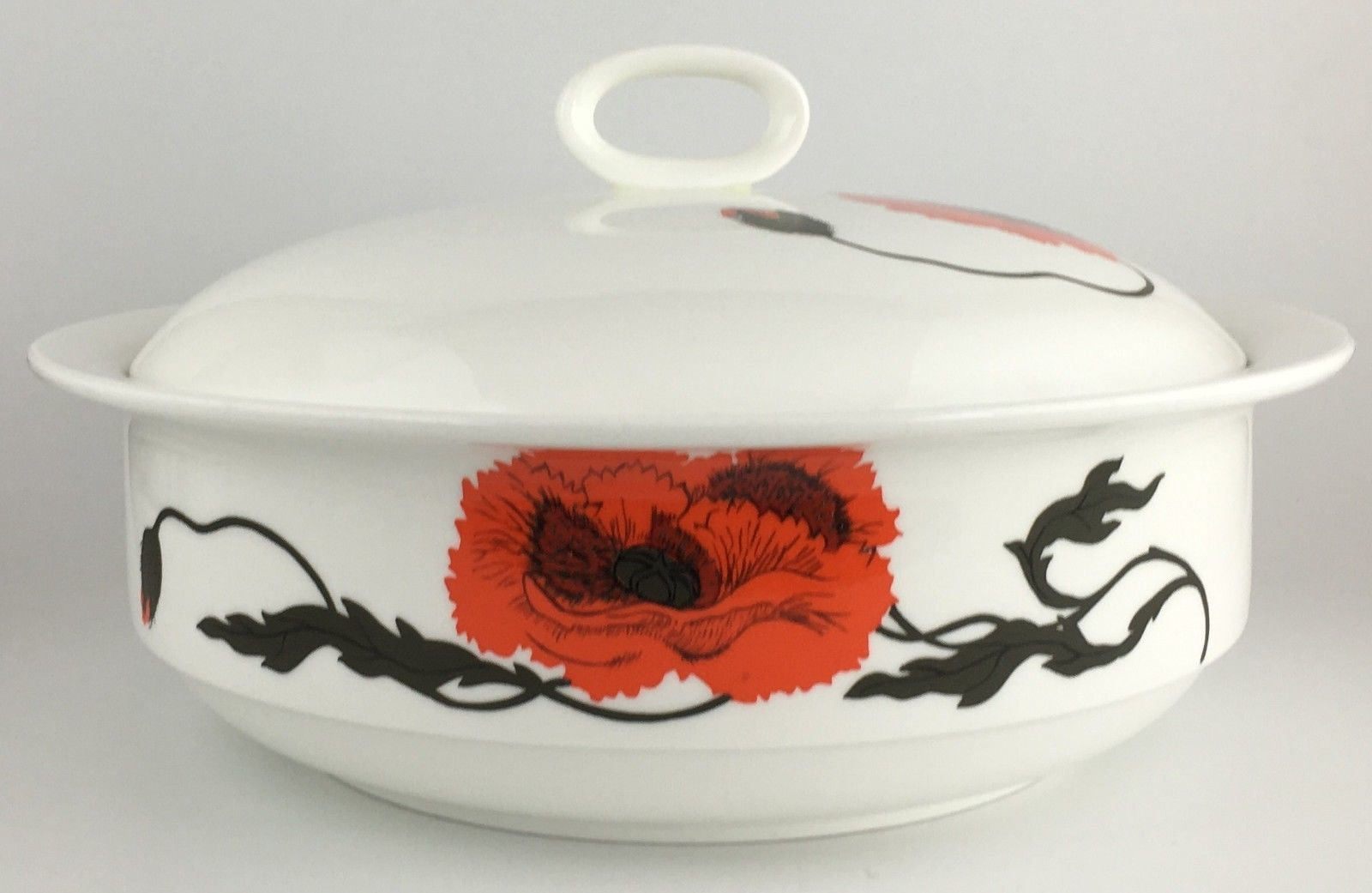 Primary image for Wedgwood CORNPOPPY round covered vegetable bowl FREE SHIPPING (SKU 12/2016))
