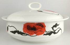Wedgwood CORNPOPPY round covered vegetable bowl FREE SHIPPING (SKU 12/20... - $65.00