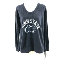 NCAA Penn State Nittany Lions Womens Sweatshirt Lightweight Black Size S - $24.18