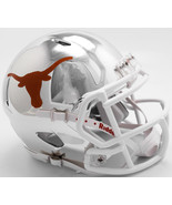 Texas Longhorns Helmet Riddell Replica Mini Speed Style Chrome Alternate... - $29.99