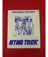 VINTAGE~STAR TREK~UNSCRAMBLE THE CREW~ PUZZLE TOY~COLLECTIBLE~Spock,Kirk... - $12.86