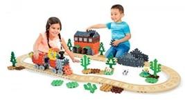 NEW! Waffle Blocks Steam Train Child Size Preschool Toys Construction Bu... - $88.09