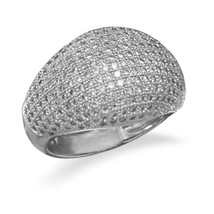 Micro Pave CZ Ring - $169.98