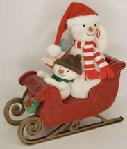 Hallmark Jingle Pals Twinkling Sleigh Ride 2016 Animated Musical Plush S... - $29.70