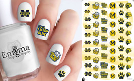 Michigan Wolverines Nail Decals (Set of 54) - $4.95
