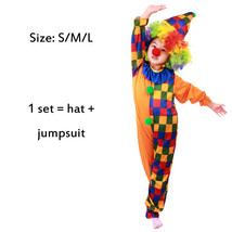TPDT* plaid clown Halloween Costumes Kids Children Funny Clown Costume N... - £33.99 GBP