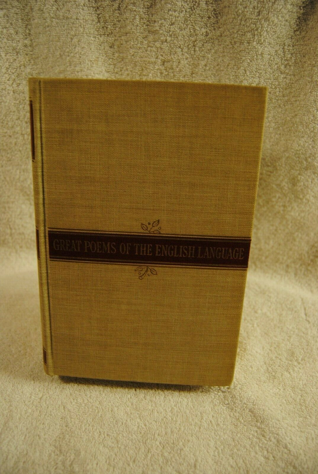 Primary image for Great Poems of the English Language  HC 1941 Book