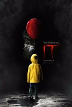 "IT Movie Poster Stephen King Horror 2017 Film Art Print 13x20"" 27x40"" 32... - $10.88+"
