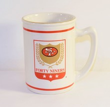 SF Forty Niners Coffee Mug NFL Team, Russ Berrie & Company - $11.88