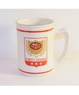 SF Forty Niners Coffee Mug NFL Team, Russ Berrie & Company - $11.88