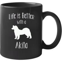 Life Is Better With An Akita Mug - $22.99