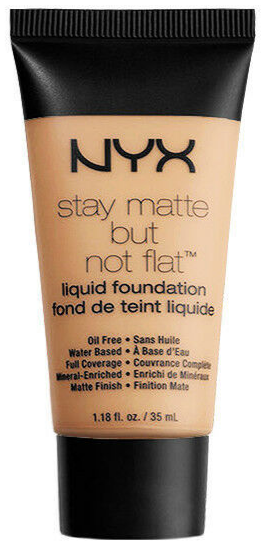 Primary image for NYX stay matte but not flat liquid foundation 1.18 fl. oz. Natural