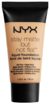 NYX stay matte but not flat liquid foundation 1.18 fl. oz. Natural   - $6.95