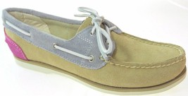 NEW! TIMBERLAND WOMEN'S EARTHKEEPERS CLASSIC SUEDE BOAT SHOES PINK DAHLI... - $66.45 CAD