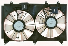 RADIATOR & A/C CONDENSER DUAL FAN ASSEMBLY MA3115139 FITS 07 08 09 MAZDA CX-7 image 2
