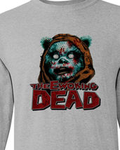 Ewoking Dead t shirt star wars The Walking Dead horror sci fi long sleeve tee image 1