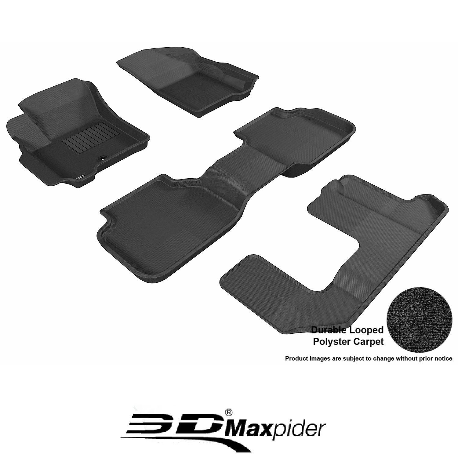 GGBAILEY D2725A-F1A-BK-LP Custom Fit Automotive Carpet Floor Mats for 1988 1993 Volkswagen Cabriolet Black Loop Driver /& Passenger 1991 1990 1992 1989