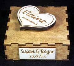 Custom Music Box Bridesmaid or Mother of the Bride Gift image 4