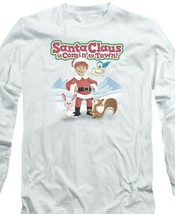 Santa Claus is Comin to Town Retro 70's Christmas TV Special long sleeve DRM137 image 2