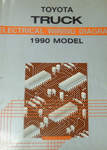 1990 Toyota Pick Up Truck Electrical Wiring Diagram Troubleshooting Manu... - $59.35