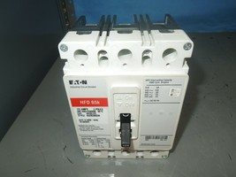 Eaton HFD3125 125A 3P 600VAC Circuit Breaker Style# 6639C86G98 Tested Used - $1,000.00