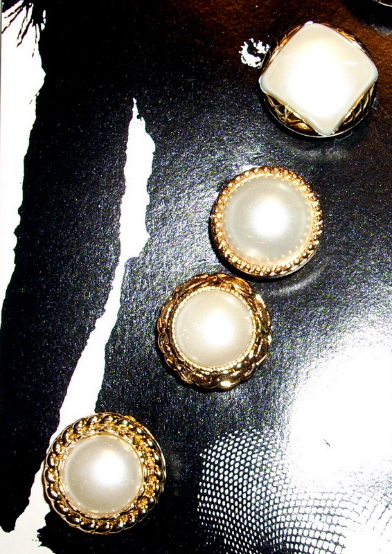 Vintage Button Covers