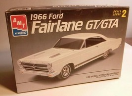 AMT ERTL 1/25 SCALE 1966 FORD FAIRLANE GT/GTA MODEL KIT NIB 6926 NEW OLD... - $39.15