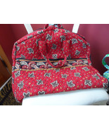 Vera Bradley garment bag in retired Red leaf coin pattern - $40.00