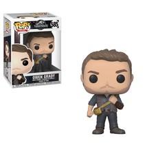 Jurassic World Fallen Kingdom Movie Owen Grady POP Figure Toy #585 FUNKO NIB - $8.79