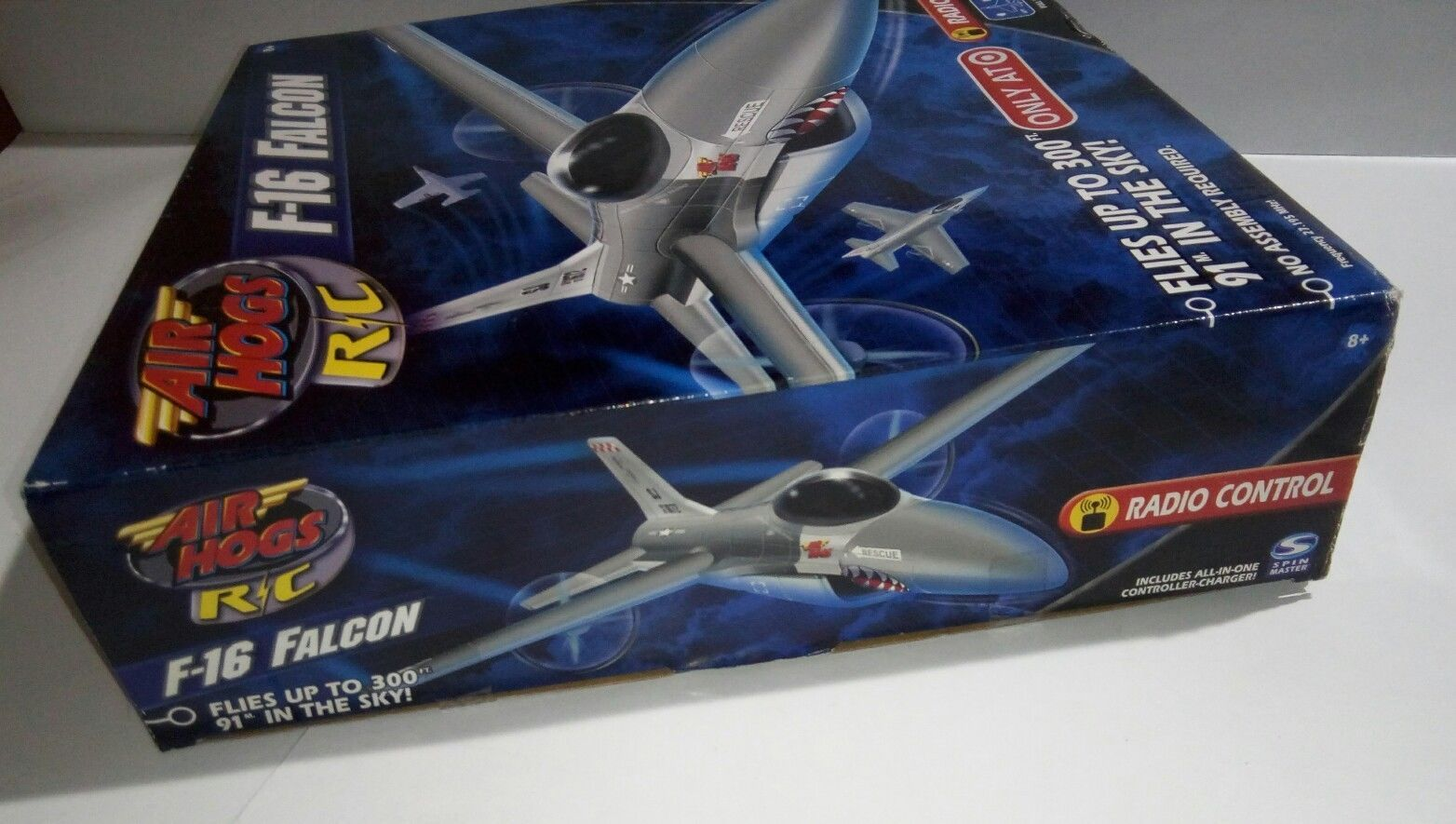 AIR HOGS RC F-16 FALCON FIGHTER RADIO CONTROL AIRPLANE (TARGET EXCLUSIVE) image 10