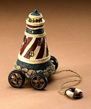 "Boyds Pull Toy ""Boyds Ahoy Tug along"" Resin  -#654107 - Retired - $29.99"