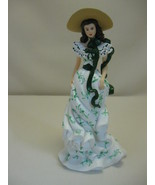 Hamilton Figurine Flower of the South Oh So Scarlett Collection 2007 #1787 - $17.95