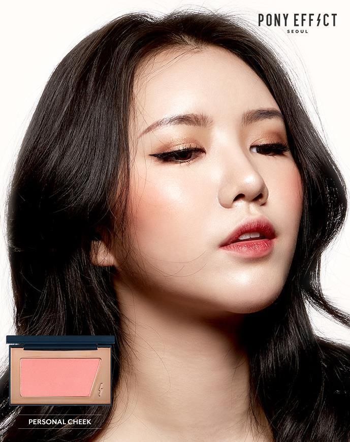 PONY EFFECT PONY EFFECT Personal Cheek Blusher / Face Blusher / Cheek Make Up /