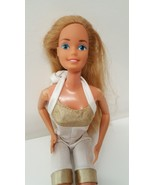 Twist N Turn Barbie Vintage 80s Pretty Pink TNT Taiwan Blonde Pierced Ju... - $29.65
