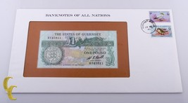 1986 The States of Guernsey $1 One Pound Banknotes of all Nations Uncirc... - $24.75