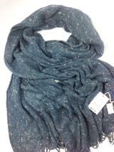 PAOLO MARIANI Teal Wool Scarf - MADE IN ITALY MSRP: $75.00 - $39.59