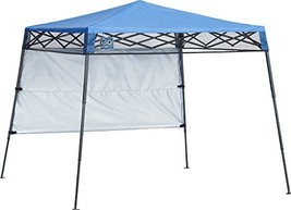 Quik Shade GO Hybrid Compact Slant Leg Backpack Canopy, Blue, 7 x 7-Foot - $94.08 CAD