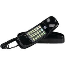 AT&T ATTML210B Corded Trimline Phone with Lighted Keypad (Black) - $33.92