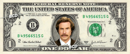 RON BURGUNDY Anchorman - Real Dollar Bill Anchor Man Cash Money Collecti... - $8.88